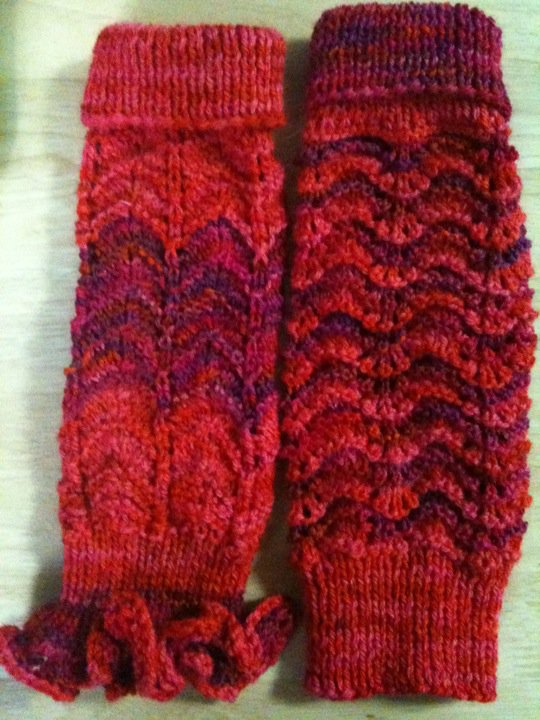 Knitting Pattern Dance Leg Warmers : Leg warmers knit1knitall