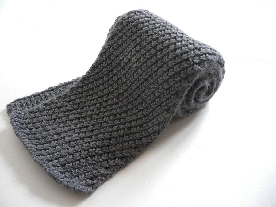 Extra Warm Mens Scarf Women Can Definitely Wear It Knit1knitall