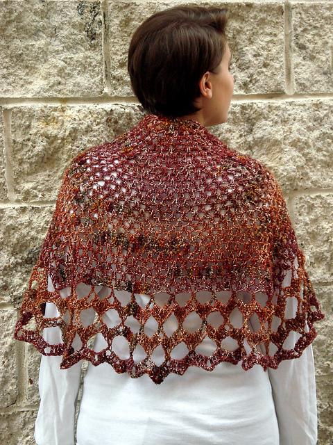 Whitsunday Butterfly Crochet Shawl Knit1knitall