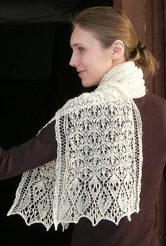 Laminaria Rectangle Stole-Scarf1