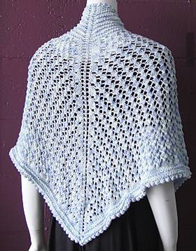Summertime Lace Shawl in Bamboozle1