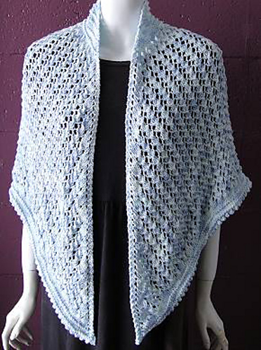 Summertime Lace Shawl in Bamboozle4