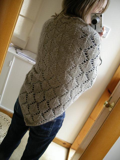 Kevät-shawl