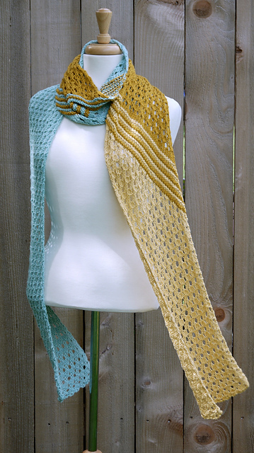 Secret Beach Diagonal Scarf