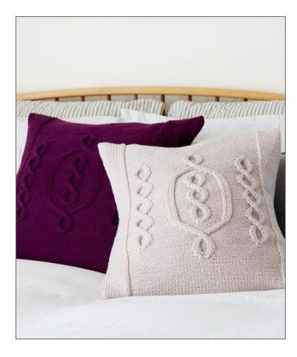 Hygge Chic Knit Pillow