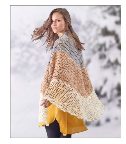 Sensational Crochet Shawl